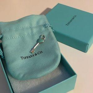 Tiffany & Co Blue Heart Key